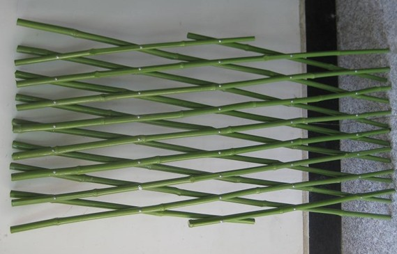 PVC coated bamboo trellis